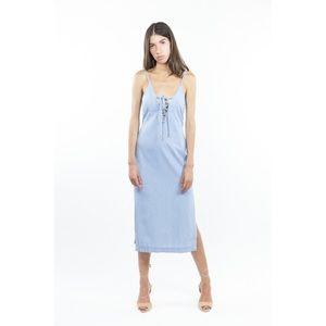 Bec + Bridge Talisman Chambray Midi Dress